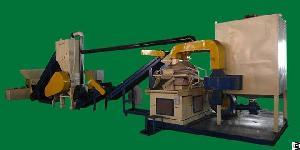 radiator fin crushing machine