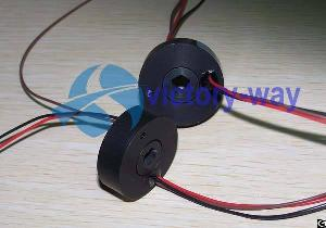 miniature bore slip ring cable reels