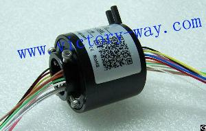 Slip Ring With 25.4mm Through-bores, Id 12.5 Mm, Od 55 Mm For Packaging Machine