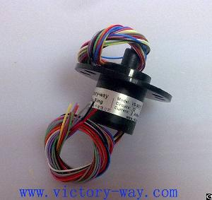 twelve channels capsule slip ring vsr sc12 cctv monitoring system