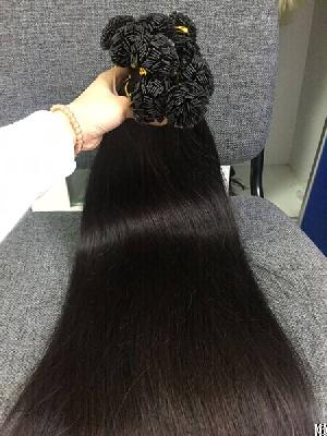vietnamese hair flat tip straight 1b 24 inches