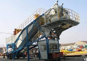 daswell mobile concrete mixing plant