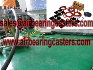 air caster load moving equipment lightweight