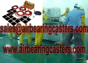 air caster rigging systems