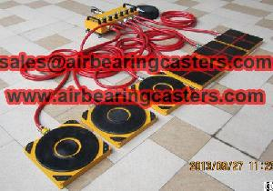 air caster rigging systems pictures instruction