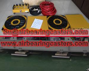 air film transporters installation picture