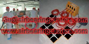 modular air caster rigging systems