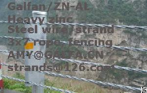 galv galfan steel wire strand