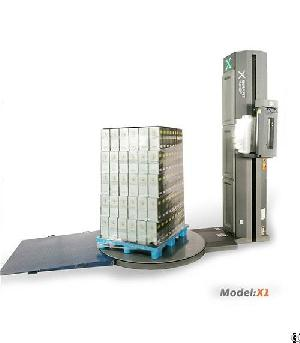 x1 pallet wrapping machine