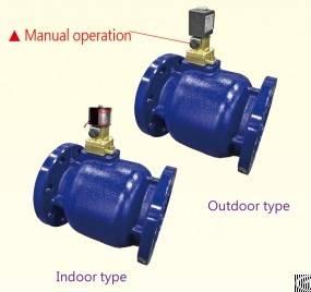port position pilot solenoid valve manual