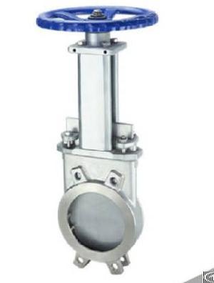ductile iron unidirectional knife gate valve