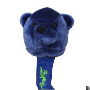 cute animal golf club headcover bear