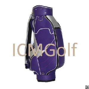 leather durable golf bag