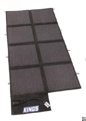 120w folding solar panel blanket cell module outdoor power