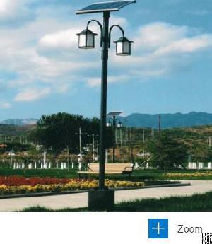 5m arm solar garden light
