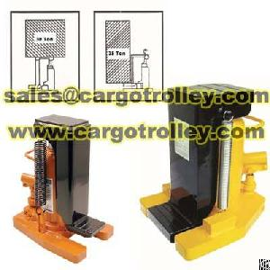 safety performance hydraulic jack