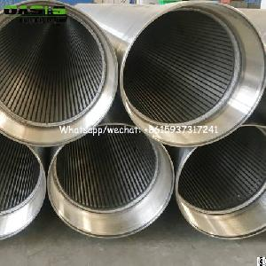 slot 20 stainless steel wire wrapped rod base screens
