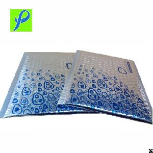 Custom Printing Insulated Protective Packaging Metallic Bubble Mailer