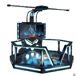 9d interactive game htc vive glasses vr simulator