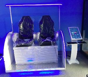 2 seats vr cinema 9d virtual reality simulator shopping mall