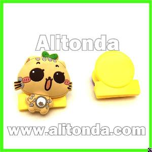 Cartoon Cute Animal Food Fruit Shape File Clip Custom Paper Clip For Promotional Gifts