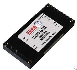 200w 300w 400w 600w brick dc converter ecco electronics