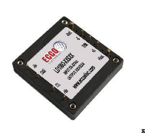 50w 75w 100w 150w 200w 350w 1 2 brick dc converter ecco electronics
