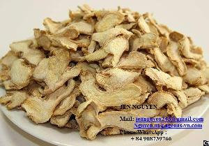 Dried Ginger Slice From Viet Nam