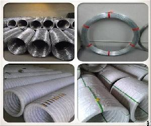 galvanized smooth oval wire 1000meters
