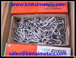 dipped galvanized fence staples