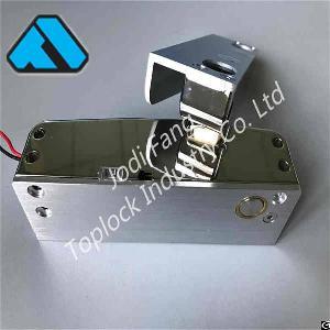 electric bolt lock glass door frameless access control system