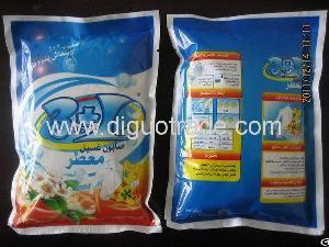 bagged washing powder