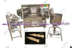 commercial sugar cone machine ice cream baker