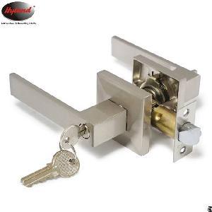 Double Side Handle Interior Doors Lever Locks