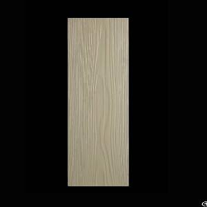 anti water durable wood grain cement siding board performance