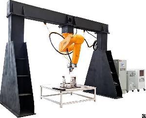 golden laser 3d robot cnc fiber cutting machine staubli uneven sheet