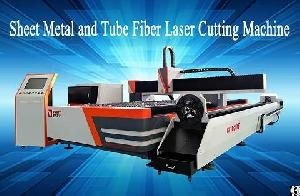 golden laser sheet plates tube fiber cutting machine gf 1530t 1500 3000mm