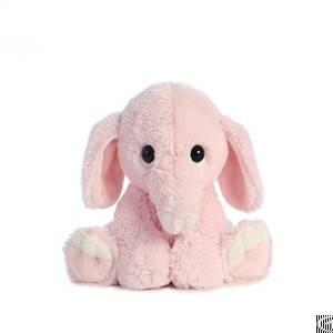 ear sitting cute elephant plush toy