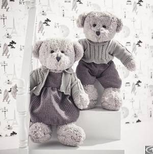 dress couple teddy bear