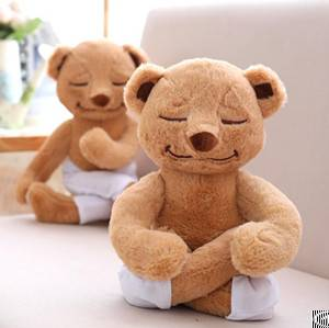 yoga bear stuffed animal