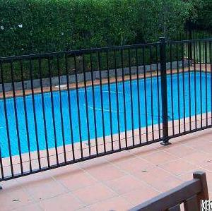 aluminium pool safety fence rails
