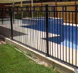 aluminum pool safty fence rails