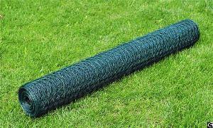 pvc coated green hexagonal chicken wire