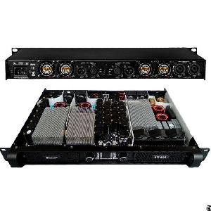 four channel class d 1u pfc digital power amplifier