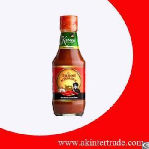 halal vegetarian chili pepper sauce thailand