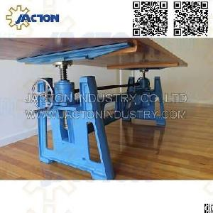 Hand Operated Crank Table Lift Mechanism