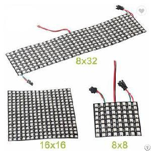 Led Video Matrix Flexible Panels In Making Screen Wall Advertising Board