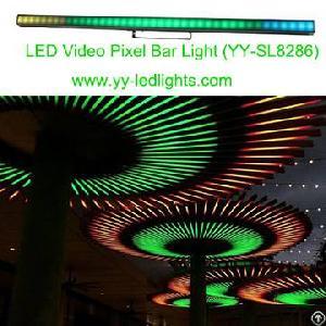 led video pixel bar light stage vivid