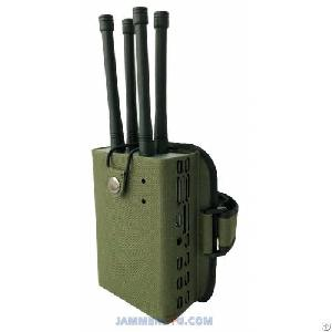 uav drone rc gps 2 4ghz 5 8ghz 28w jammer up 500m