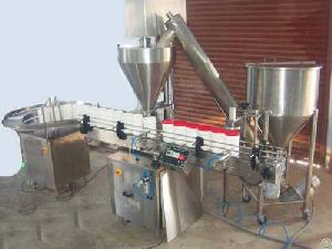 powder filling machines auger fillers